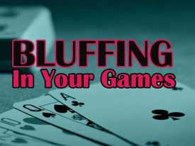 Bluffing As A Powerful Weapon – Know About The Weapon